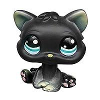 LPSCB 定制婴儿短发猫家庭 1 英寸凯蒂猫迷你宠物商店猫玩具 1英寸 粉红色