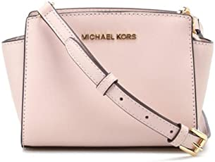 Michael Kors 迈克·科尔斯 女式 塞尔玛迷你信封包 32H3GLMC1L 187 浅粉 均码
