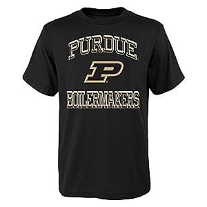 outerstuff NCAA 儿童和青少年男孩 gridiron 英雄短袖 t 恤 黑色 L(7)