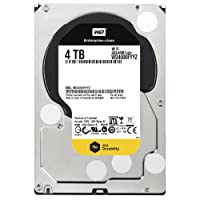 Western Digital RE Enterprise Hard Drive: 3.5 Inch, 7200 RPM, SATA III, 64 MB Cache 4 TB