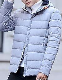 MPSMOVE 思慕夫 2018【多色可选】冬季款男士韩版简洁外套男修身棉衣男装夹克男KW252【12】