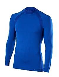 Falke Warm 长袖衬衫 潮流男士 - 温和耐寒,保持身体温暖干燥,活力时为您的身体冷却 - 非常适合烹饪