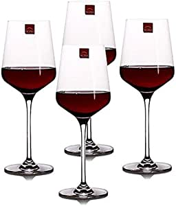 RONA洛娜无铅水晶 雪瑞斯玛纯手工红酒杯 6044 250(4只装)