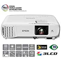 Epson EB-S39 Portable 3LCD Business Projector,白色