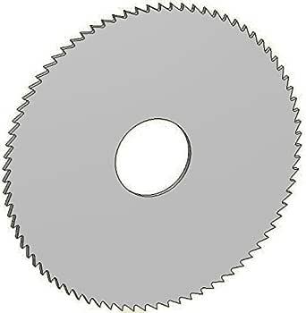 Controx-Neuhaeuser 240345 开锯高速钢/-Co,产品编号 12600630790001,齿形 B,2.5 英寸直径,0.031 英寸宽,0.625 英寸孔径