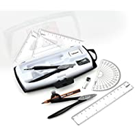 Helix *学校套装 Study Metal 10 Piece Kit 透明