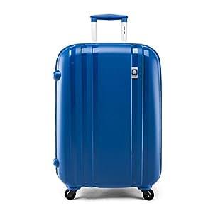 Delsey 法国大使 PP ZIPPE系列 拉杆箱 849 蓝色 25英寸 万向轮 PP材质 TSA海关密码锁