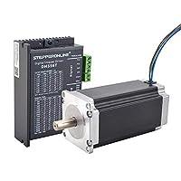 STEPPERONLINE 1 轴步进电机 CNC 套件 3.0 Nm(425 oz.in) Nema 23 步进电机和数字步进驱动 1.8-5.6A 20-50VDC