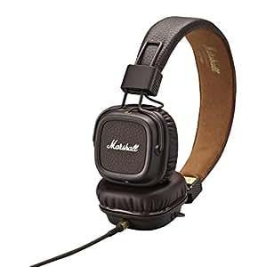 Marshall Major II 头戴式HiFi摇滚重低音监听耳机 折叠式线控式耳麦 褐色