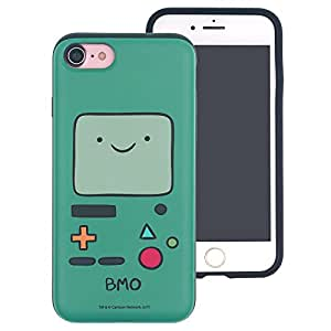 iPhone SE/iPhone 5S / iPhone 5 Case, Adventure Time Layered Hybrid [TPU + PC] Bumper Cover [Shock Absorption] for Apple iPhone SE / 5S / 5 - Beemo (BMO)