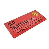 曼彻斯特联合 FC 街道标牌 红色 - 金属 - 旧Trafford