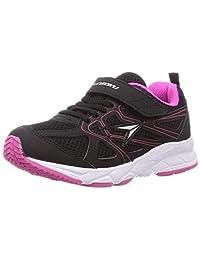 Syunsoku 瞬足 运动鞋 运动鞋 宽幅 轻量 19~23厘米 3E 儿童 女孩 LEJ 6614