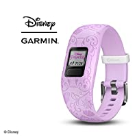 Garmin 佳明 vívofit jr. 2 – 弹性 BB-8 – 儿童活动追踪器010-01909-34 新品 Adjustable band Princess Character Icons