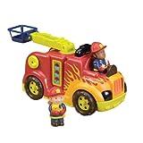 B.Toys 比乐 震动消防车救火车模型玩具 儿童益智玩具 感官训练 早教 婴幼儿童益智玩具 礼物 18个月+ BX1146C2