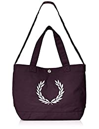 """ FRED PERRY ] 托特包 Laurel Wreath Canvas Tote Bag f9528"