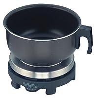 ROMMELSBACHER RK 501/SU – 全自动旅行电烤盘 – 500瓦 – 不锈钢/黑色