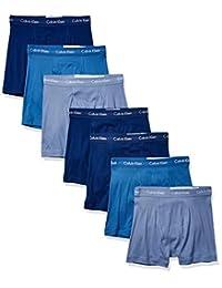 Calvin Klein 男士棉质经典喇叭平角内裤
