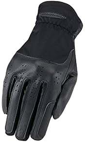 Heritage Kids Show Gloves, Black, Size 2
