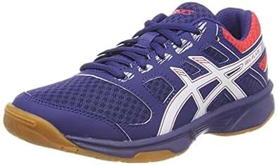 ASICS 中性室内童鞋 Gel-Flare 6 Gs 排球鞋 Blau (Blue Print/Real White 400) 37.5 EU