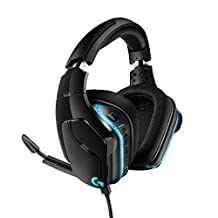 Logitech G935 无线游戏耳机981-000750 Wired One Size