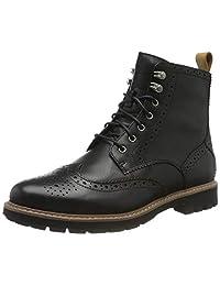 Clarks 男士 Batcombe Lord 骑行靴