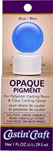 Environmental Technology 1-Ounce Casting' Craft Opaque Pigment, Blue
