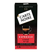 Carte Noire Corse 与Nespresso咖啡机兼容 咖啡胶囊, 10个