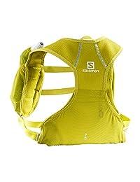 Salomon 萨洛蒙 跑步系列 中性 越野冒险背包 AGILE 2 SET 含两个软水瓶(500ml / 17oz) LC1093