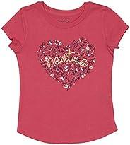Nautica Girls' Heart Graphic