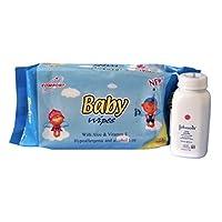 Baby Wipes 低*性强生婴儿奶粉套装