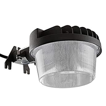 Dusk-to-Dawn LED 户外谷仓灯,3000K/5000K 暖白色 (3000K) 1包 LHBL-40W30PS-GEY