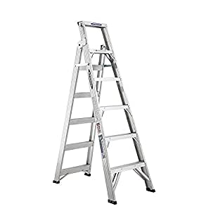 werner 稳耐 铝合金两用梯 DP368CN(亚马逊自营商品, 由供应商配送)