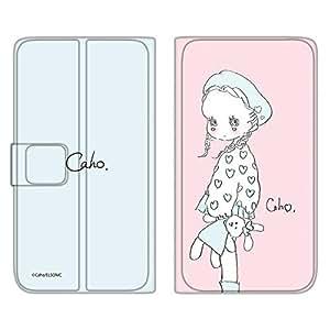 caho 保护套薄款印花翻盖毛绒玩具和小女孩手机保护壳翻盖式适用于所有机型  ぬいぐるみと少女C 5_ ARROWS NX F-01F
