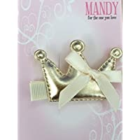 Mandy Crown with Bow Gold