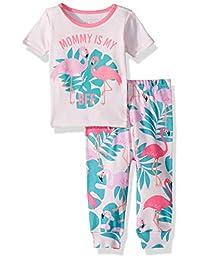 The Children's Place 女婴短袖2件套睡衣套装