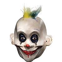 Rubie's Costume Co 男式蝙蝠侠黑暗骑士小丑丑丑丑丑丑成人面具