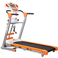 i-xfit 艾菲特 好家庭多功能家用跑步机 橙色/灰色 FP-90052