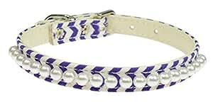 Evans 项圈 3/8 珍珠项圈 深紫色 Size 12