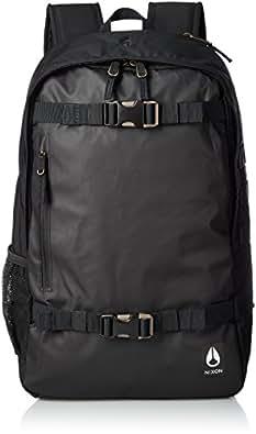 [ 尼克松 ] 背包 Smith III Backpack nc28152101–00 ALL BLACK NYLON 21L