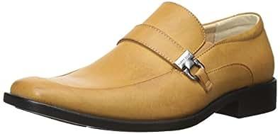 Perry Ellis 男式基督教乐福鞋 米色 12 M US