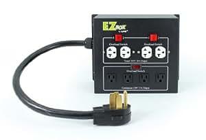 Lumz 'n Blooms LEZ4 照明控制面板,带 4 个插座,适合室内植物生长