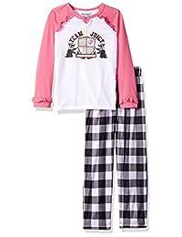 Juicy Couture 橘滋低龄女童 2 件套睡衣