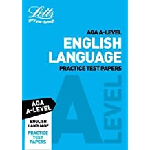 Letts A-Level Revision Success – AQA A-Level English Language Practice Test Papers (English Edition)