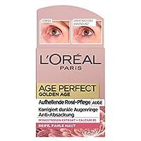 L'Oreal Paris 巴黎欧莱雅 Age Perfect系列Golden Age 玫瑰眼部护理,含钙B5和牡丹提取物,针对黑眼圈