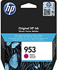 HP 953 Magenta Original Ink Cartridge – 墨盒适用于打印机 (洋红色, 标准, HP, 40 – 60 ° C, Officejet Pro 8210 Officejet Pro 8