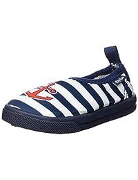 Playshoes 中性款儿童Uv-Schutz Aqua-Slipper Maritim 水鞋
