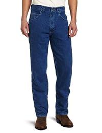 Wrangler Men's Rugged-Wear Relaxed-Fit Stretch Flex Denim Jean