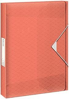 Esselte Colour'Ice 文件盒,A4,40 毫米背宽,PP,桃色,626263