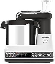 Kenwood kcook 多 ccl401wh – 厨房机器带内置切碎器, 白色和黑色