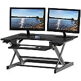 SHW 高度可调桌面立式桌面,32 x 22 英寸